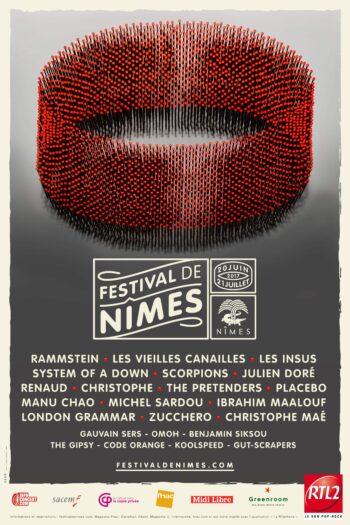 FESTIVAL DE NIMES 2017 VISUEL HAUTEUR